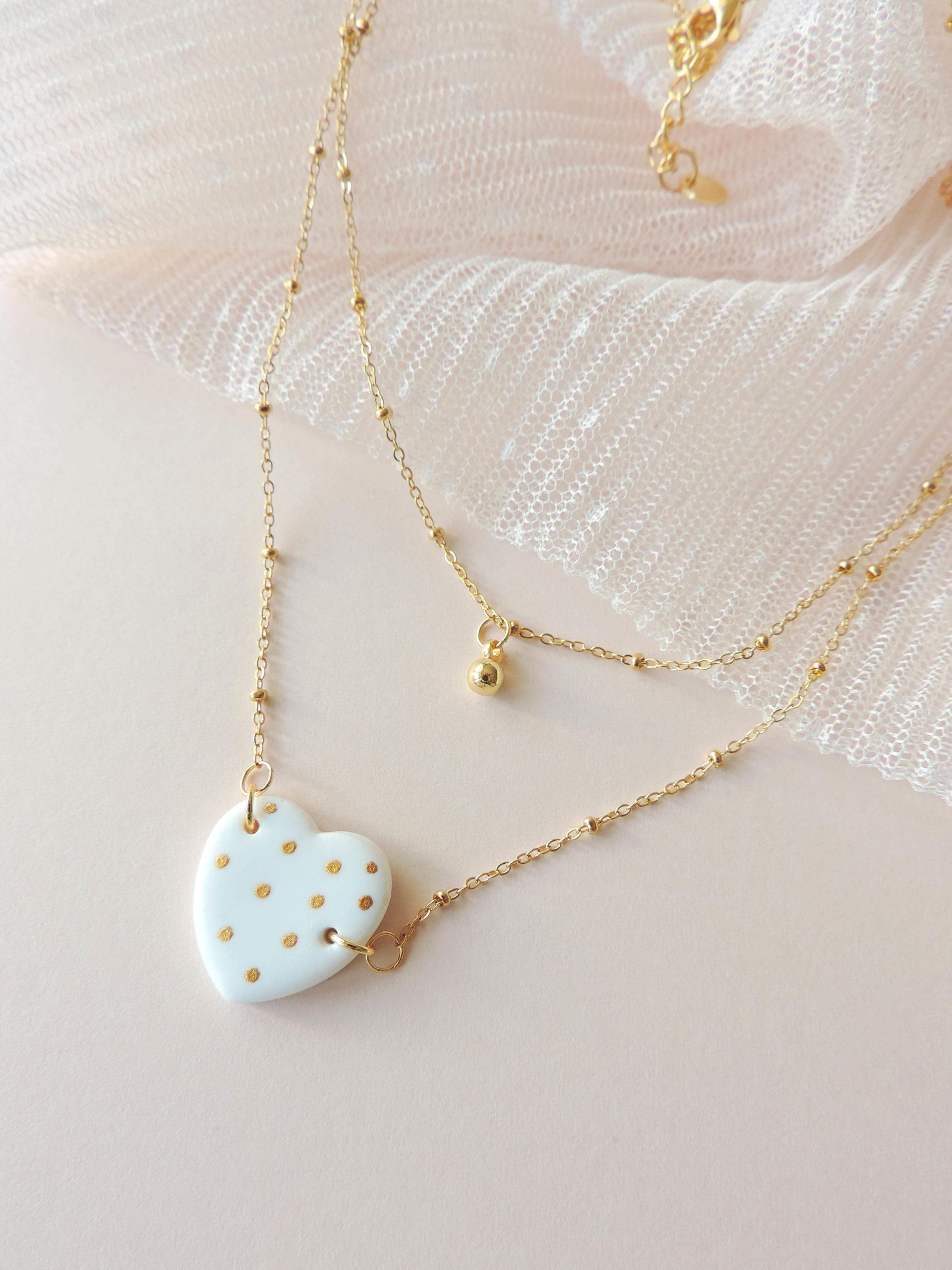Collection ASTERIA, bijoux, boucles d'oreilles en argile polymère KOUKLAKI